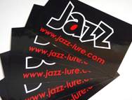 Jazzロゴステッカー